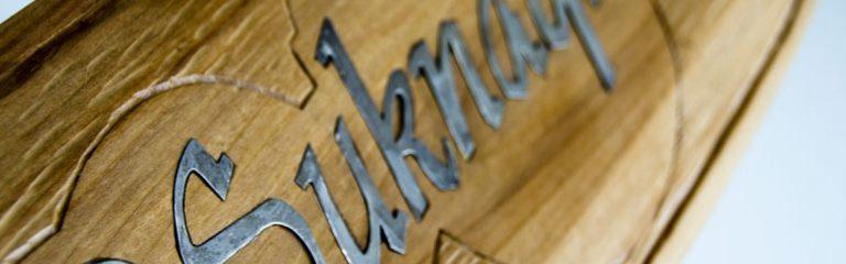 Detail photo of the UBC Okanagan mace.